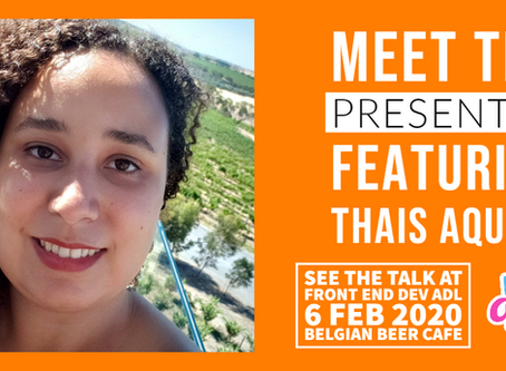 MEET THE PRESENTERS : FEATURING THAIS AQUINO