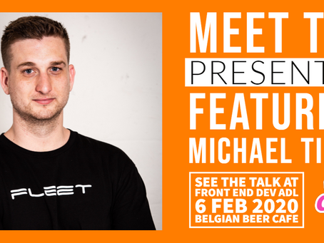 MEET THE PRESENTER : FEATURING MICHAEL TIMBS