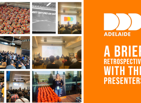 DDD Adelaide 2019: A Brief Retrospective