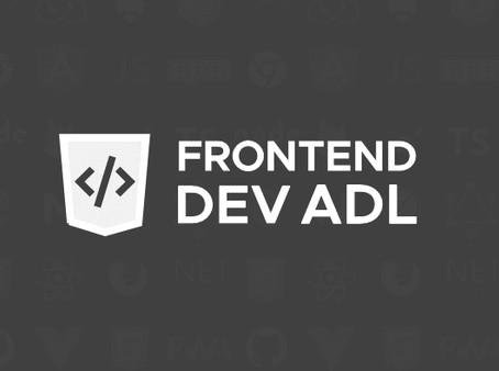 Frontend Dev Meetup Adelaide