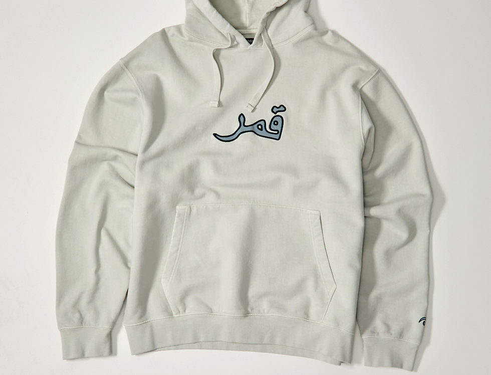 Embroidered Full Moon Hoodie