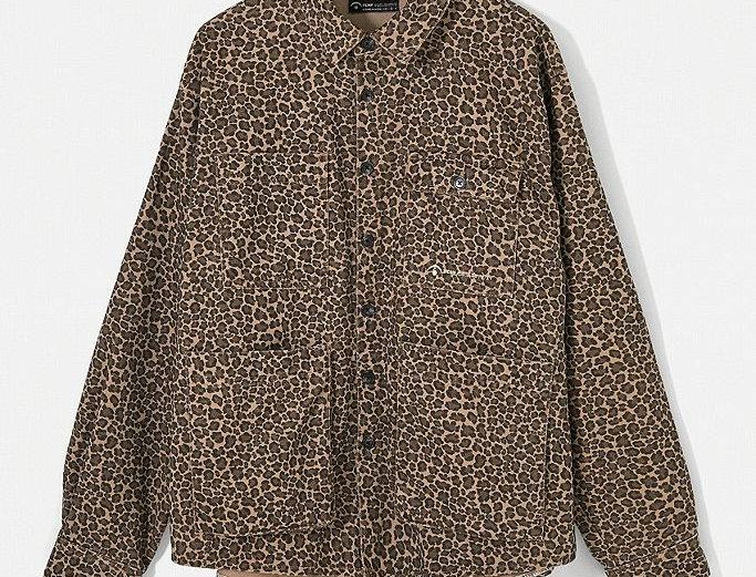 Recycled Animal Shirt Jacket