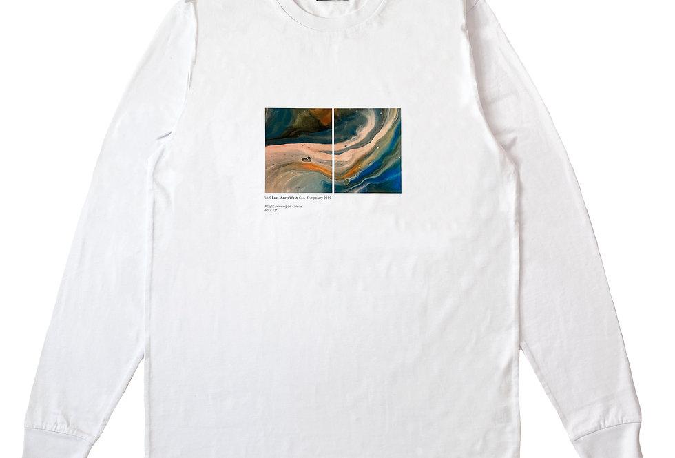 Hand Paint Organic Long Sleeve T