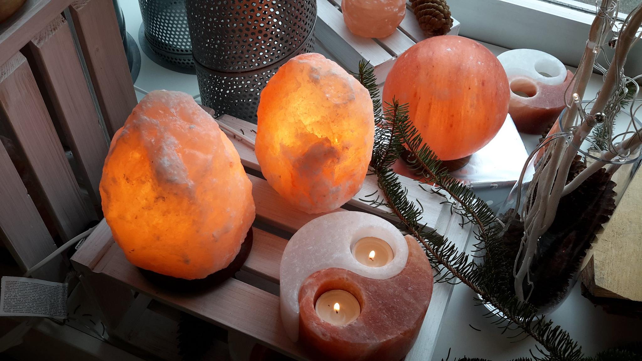 Salz- und Minerallampen