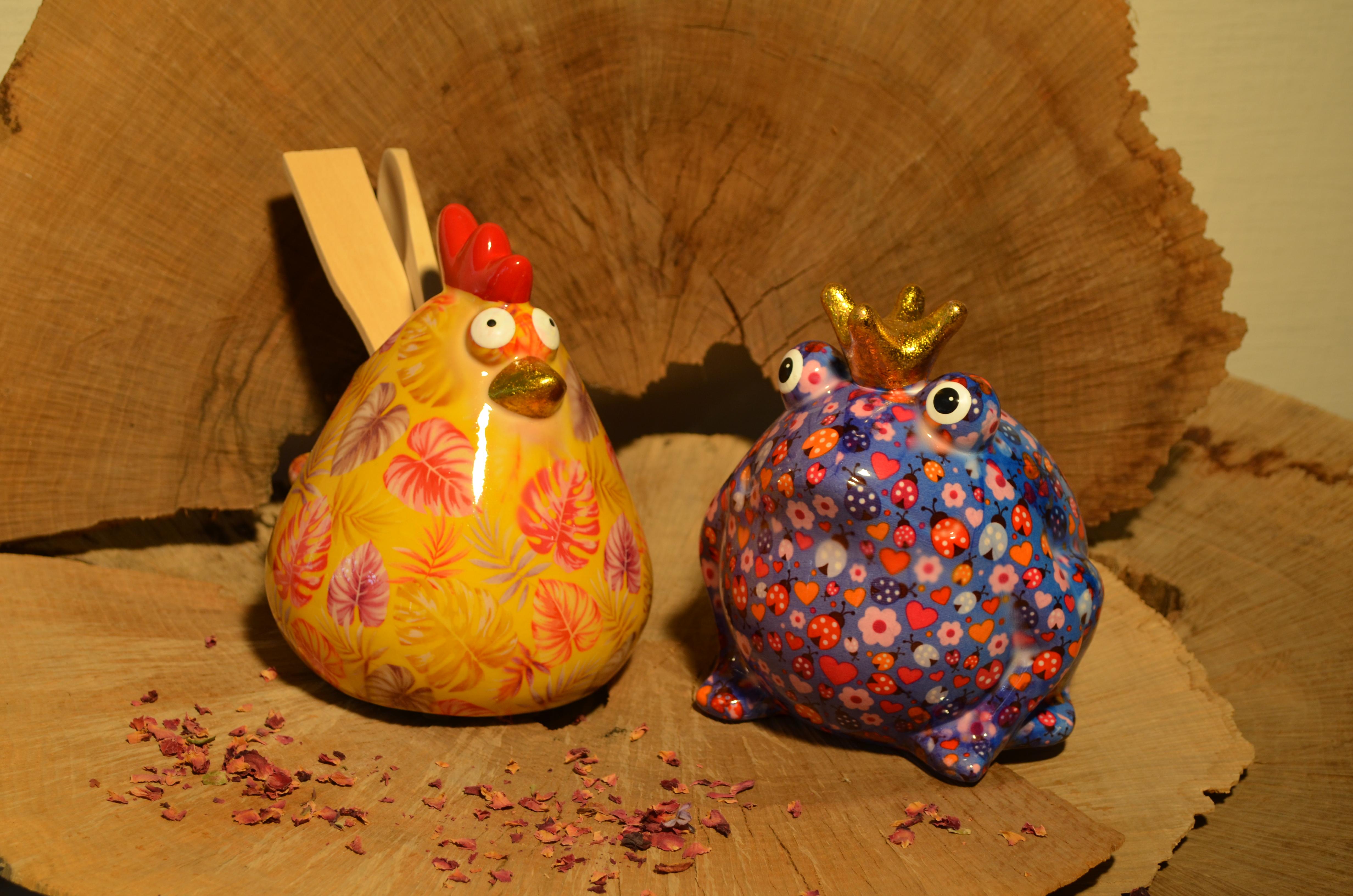Kässeli Huhn und Frosch