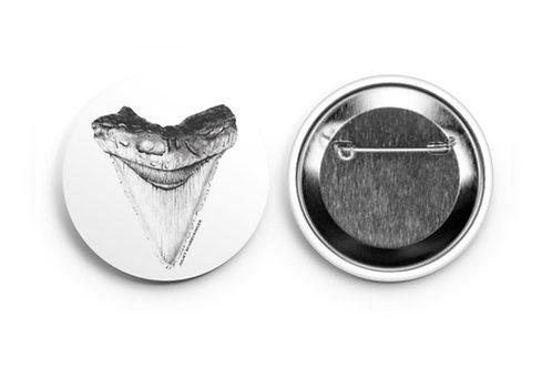 """Megalodon Shark Tooth"" Pin"