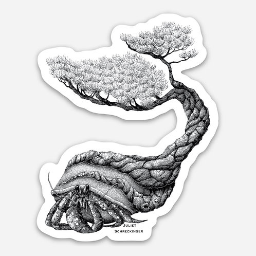 """Tuck's Tree"" Sticker"