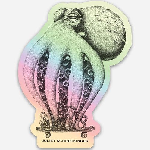 """Oscar"" Holographic Sticker"