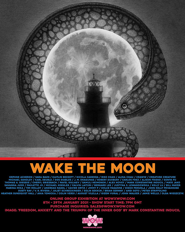 Wake the Moon - Flyer Template - (Photos