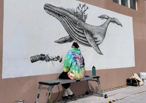 Mural timelapse