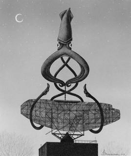 """William and his Radar Tower"""
