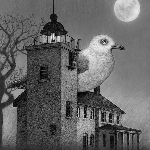 """Horton's Lighthouse"" Print"