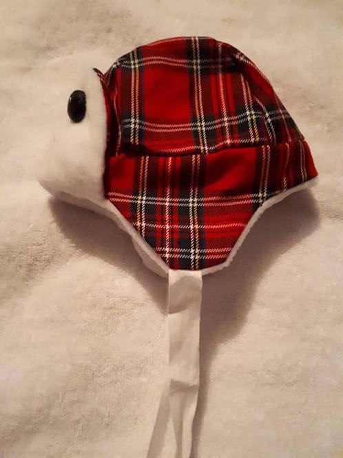 ea21f0e6e40ef Red Tartan Trapper Hat