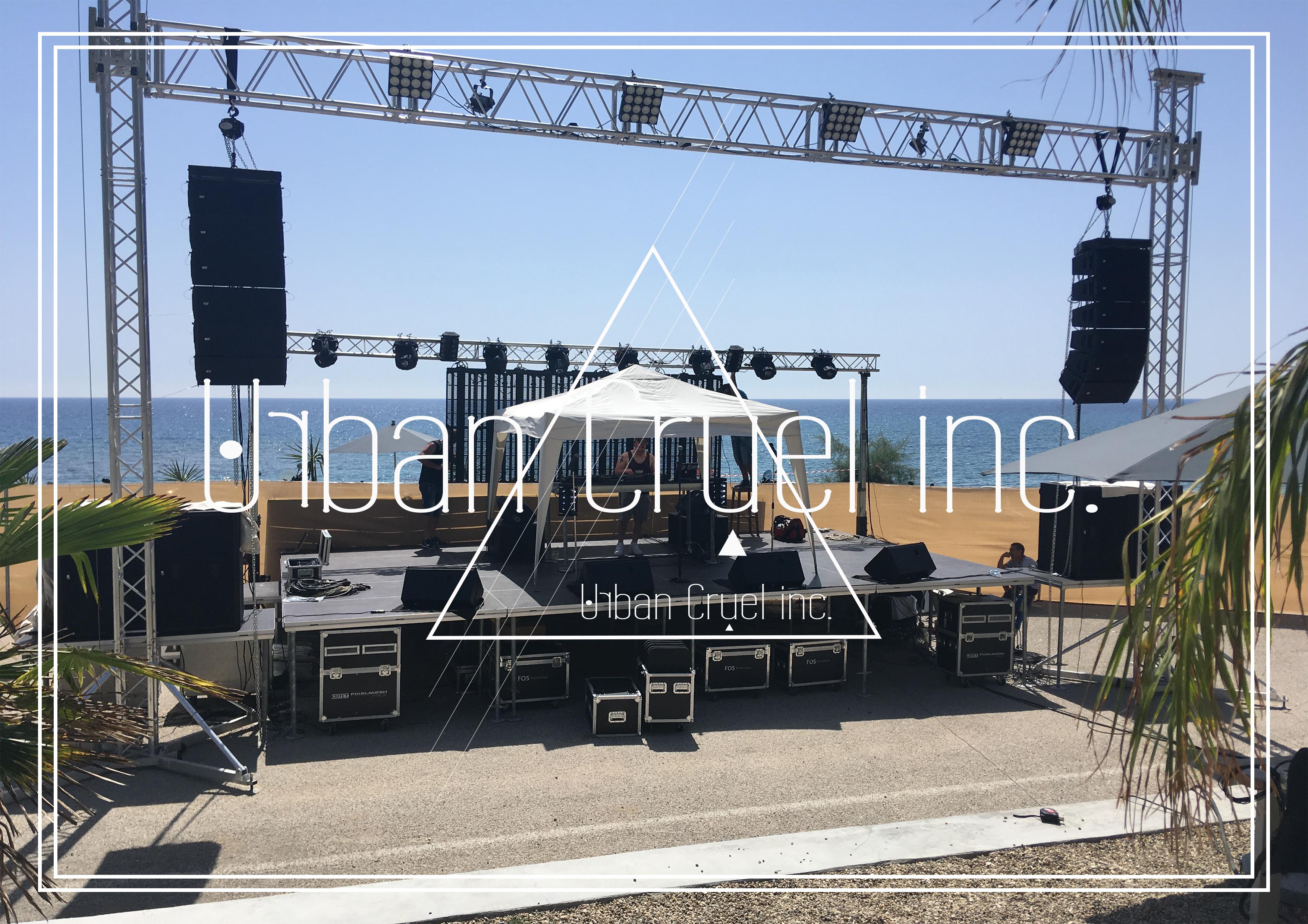 Backline Setup& DJ Support