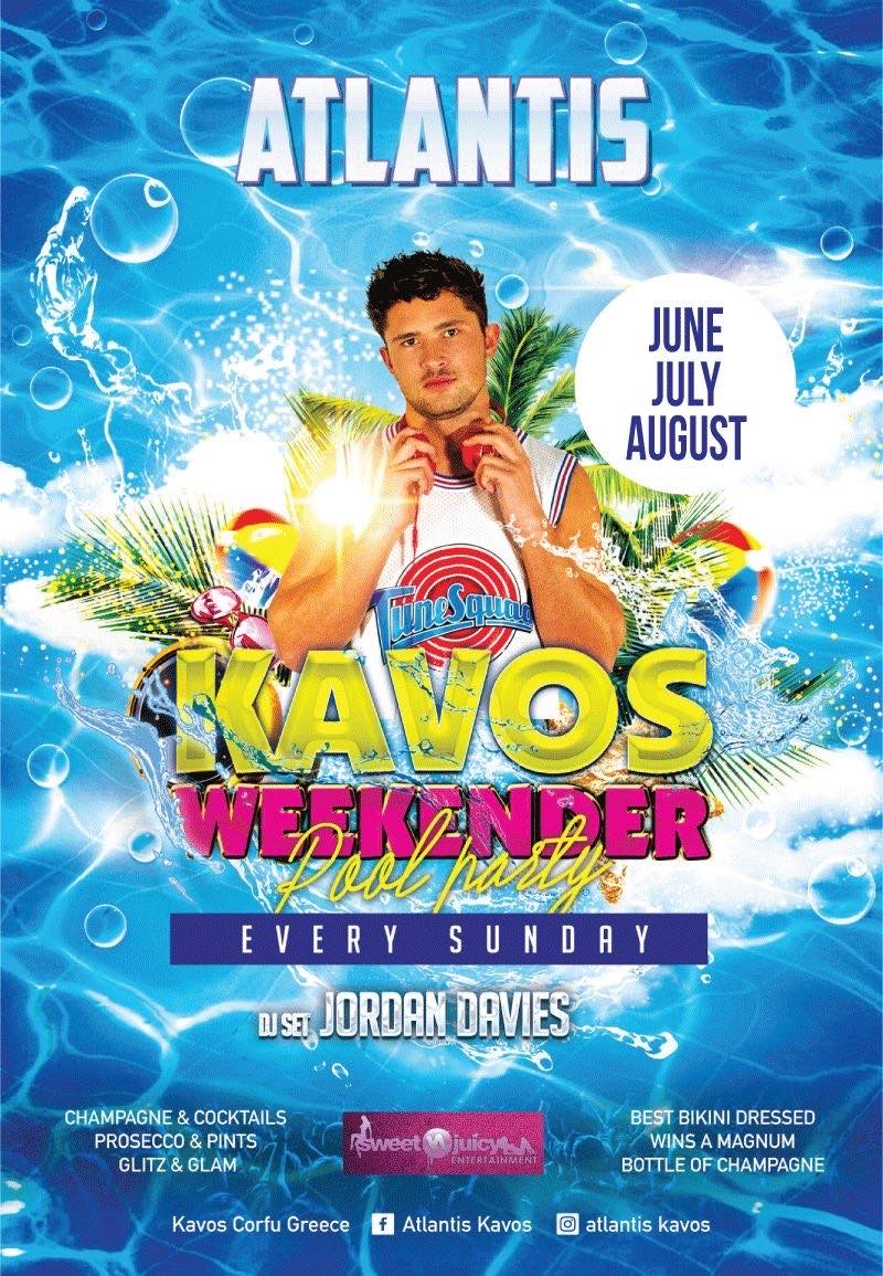 The Kavos Weekender Pool Party with