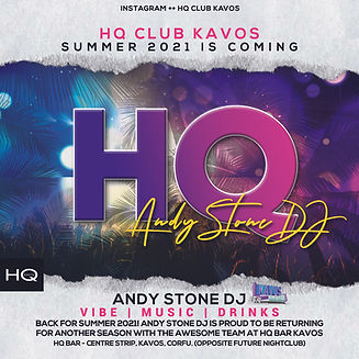 Back For Summer 2021 - Andy Stone DJ