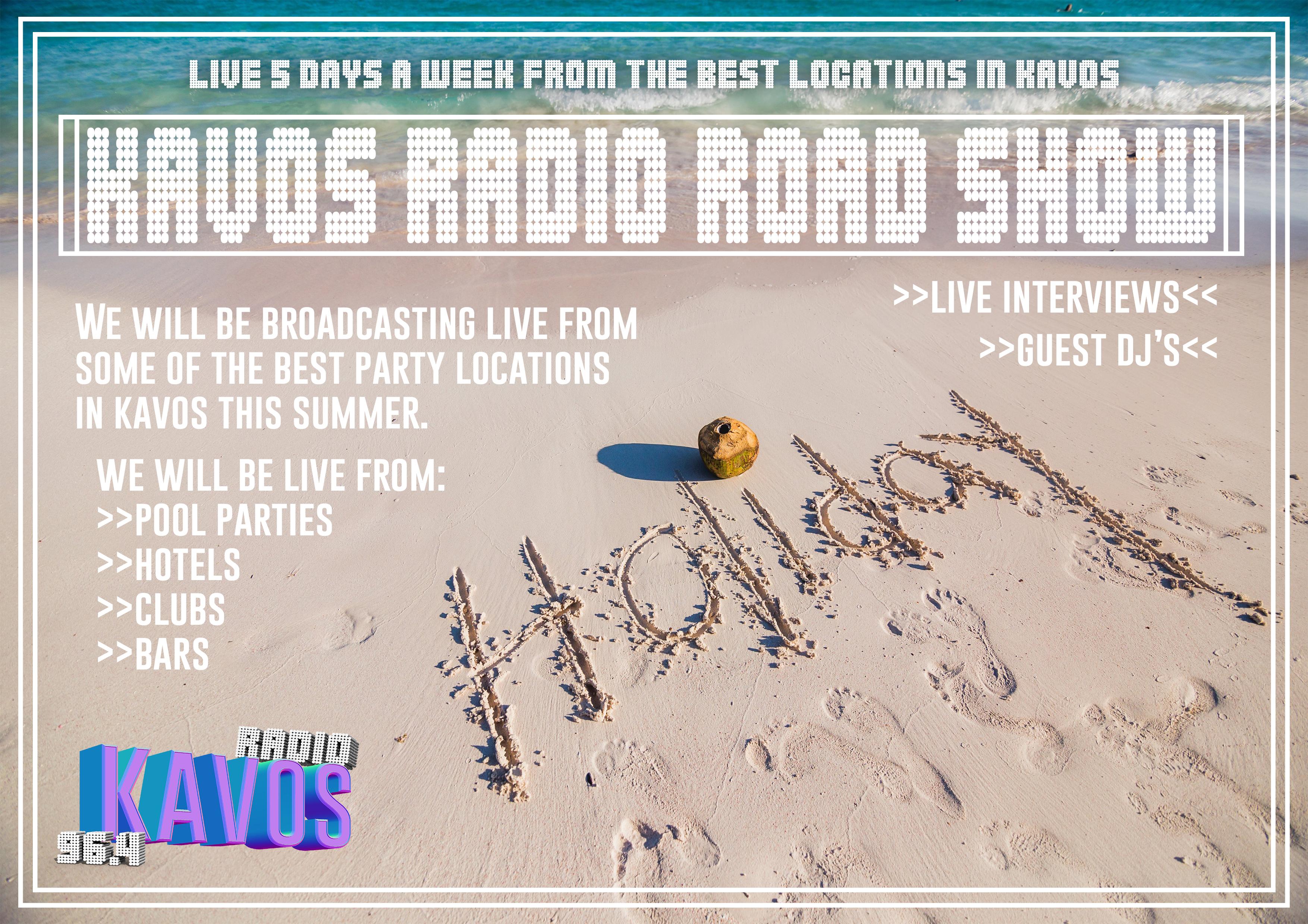 Kavos Radio Road Show