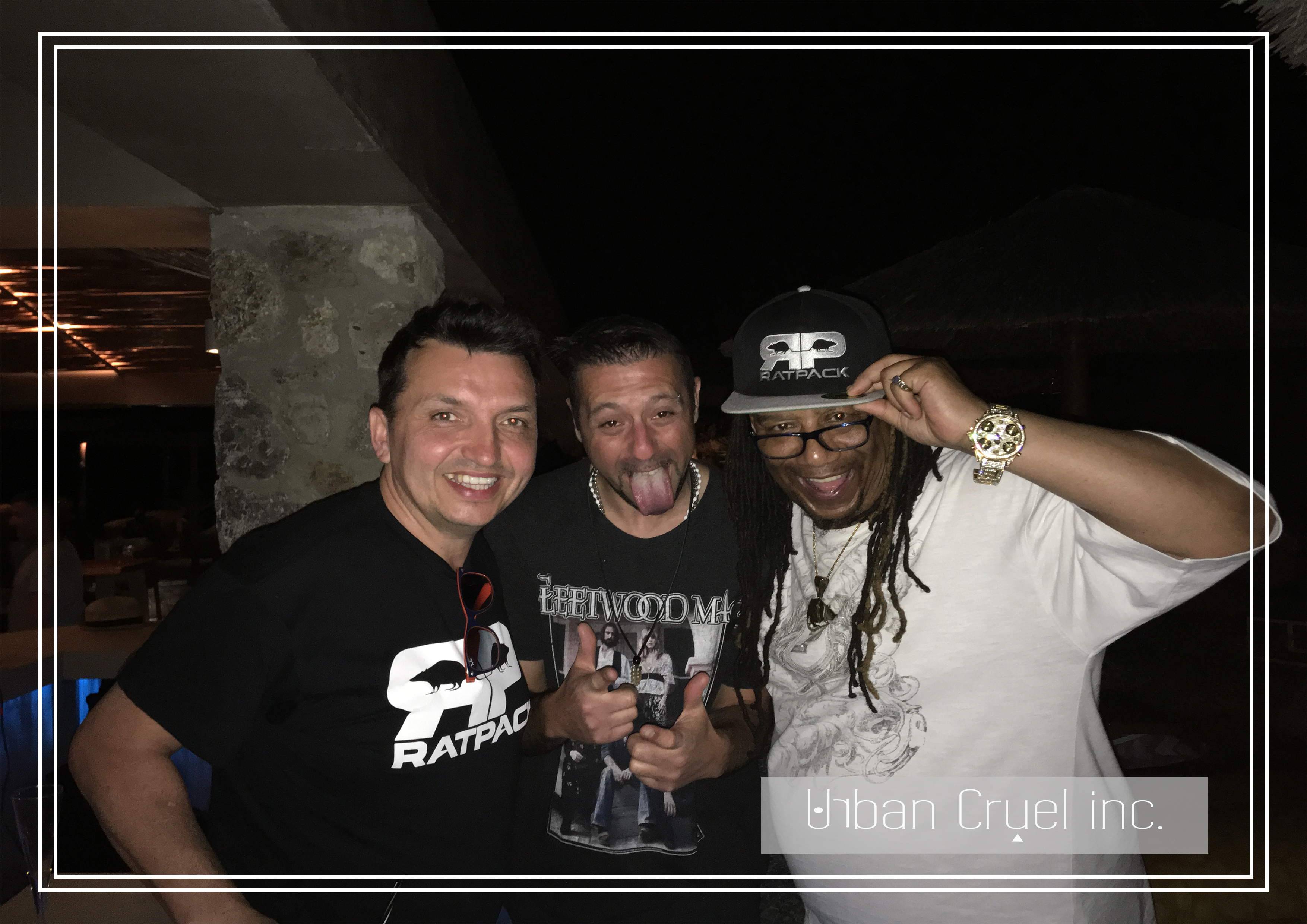 Andy Stone DJ - Ratpack Support Corfu 20