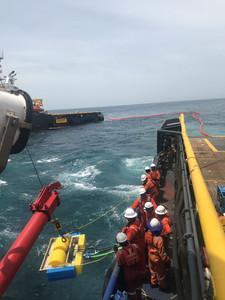 OPRC (IMO equivalent) delivered OFFSHORE