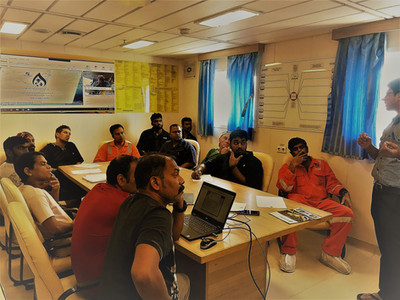 OPRC (IMO equivalent) course delivered OFFSHORE