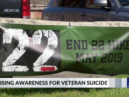 End22 Hike Raises Awareness of Veterans Suicides