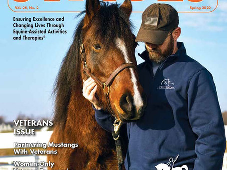 EquiCenter's Mission Mustang Featured in STRIDES Magazine