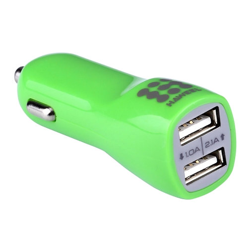 General Car Charger Dual USB Ports