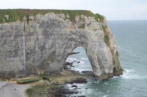 Normandiai végtelen Étretat.