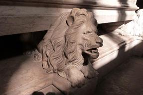 Jeronimo éber oroszlánja, Lisszabonban.