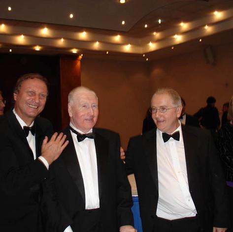 Patrick Doyle zeneszerzõvel és Doyle édesapjával - London