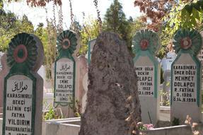 Újkori török temető Konyában