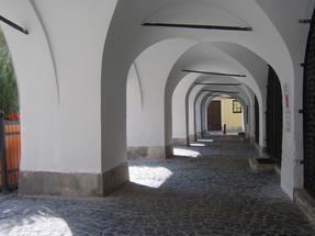 Soproni óváros, turisták nélkül.