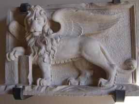 Velencei oroszlán, ott mindenütt szárnyas.