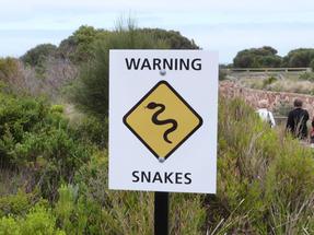Nem vártuk…nem is jött. Ezt is Dél-Ausztrália.