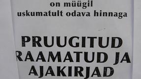 Hangzatos és tanulásra inspiráló észt feliratok Tallin városából.
