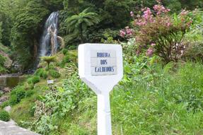Különféle feliratok az Azori-szigetekről, parkok, sírok, buszvárók. Stb.