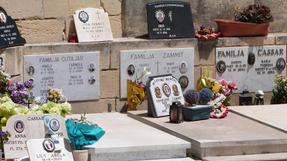 Máltai temető, mint az etnikai sokféleség lenyomata.