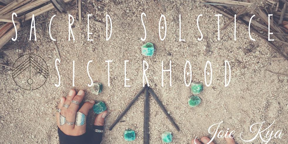Sacred Solstice Sisterhood