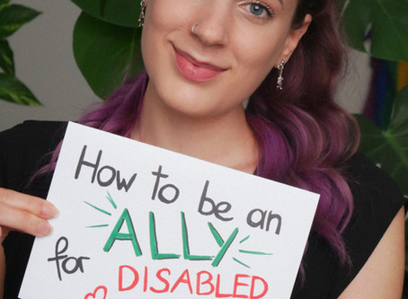 How to be an Ally for chronically ill and disabled people