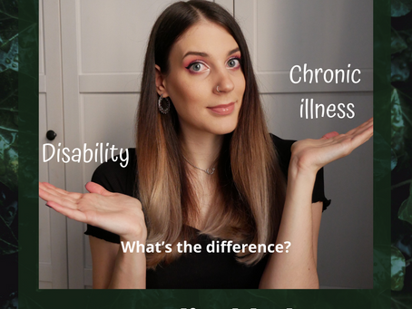 Chronic illness and disability – am I disabled?