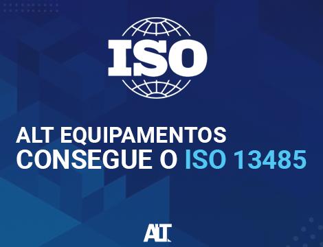 ALT Equipamentos consegue a ISO 13485