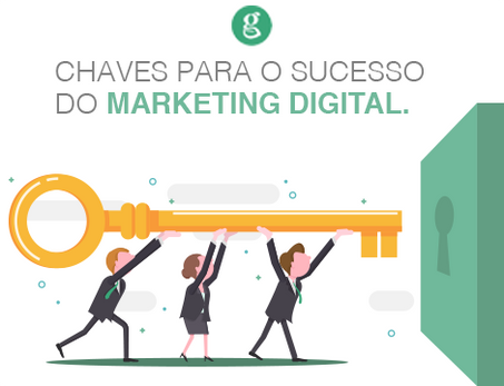 As chaves para o sucesso do marketing digital
