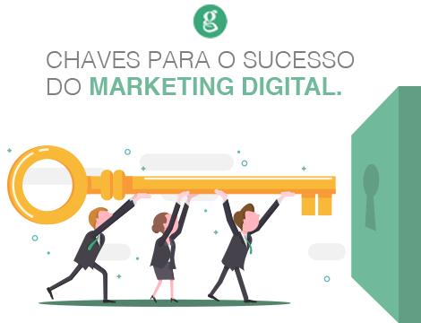 As chaves para o sucesso do marketing digital