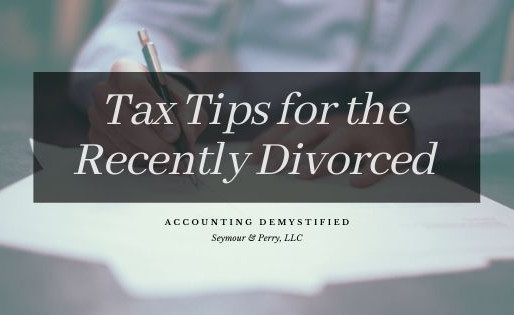 Tax Tips for the Recently Divorced