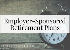 Types of Employer-Sponsored Retirement Plans