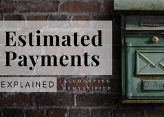 What Are Estimated Payments?