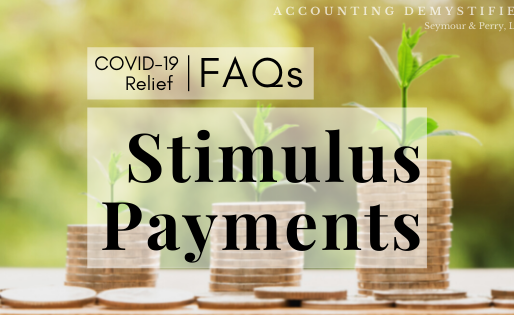 COVID-19 Relief | FAQs: Stimulus Payments