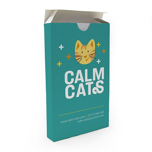 Calm Cats Therapeutic Activity Cards