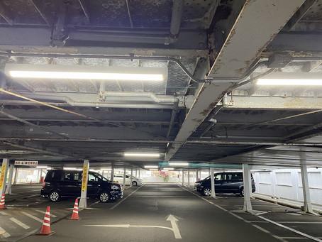 久米川ボウル様 駐車場LED工事