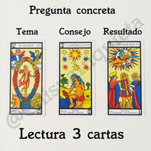 Lectura 3 Cartas Consejo. 10€